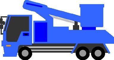 高所作業車が必要なアンテナ工事